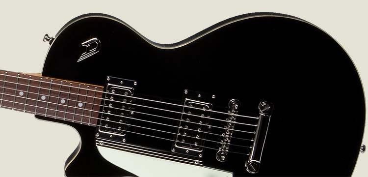 Left Handed Duesenberg Guitars - Starplayer Special in Black finish
