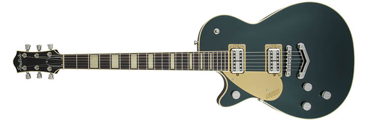 Left Handed Gretsch Guitars - G6228LH Players Edition Jet - Cadillac Green Metallic