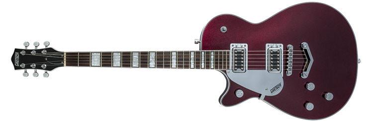 Left Handed Gretsch Guitars - G5220LH Electromatic Jet - Dark Cherry Metallic