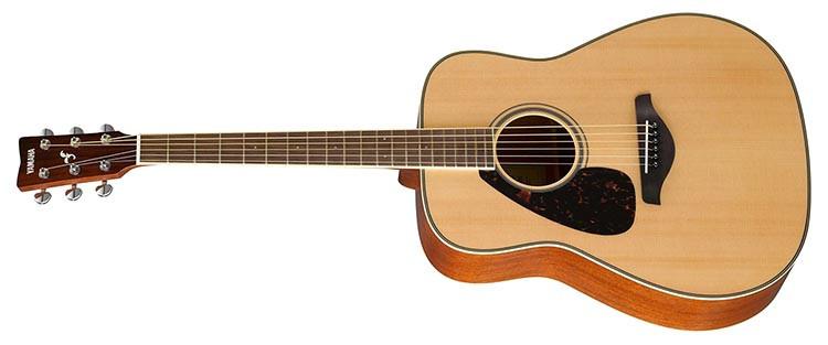 Left Handed Yamaha FG820L Acoustic Guitar