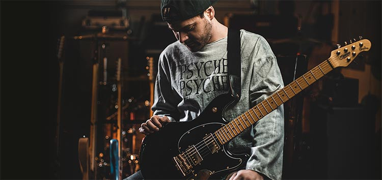 Jared Dines Signature Sterling by Music Man StingRay guitar
