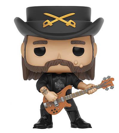 Funko Pop Guitar Figures - Lemmy