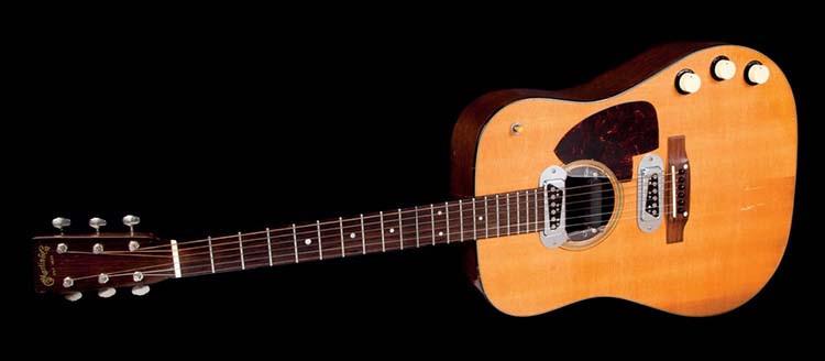 Most Expensive Left Handed Guitars Ever - Kurt Cobain's Martin D18-E