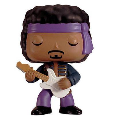 Funko Pop Guitar Figures - Jimi Hendrix (Purple Haze)