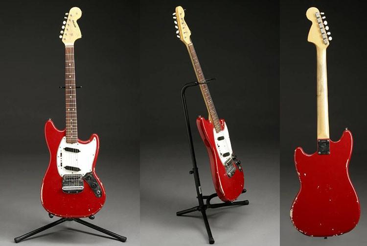 Jimi Hendrix' Red 1966 Fender Mustang