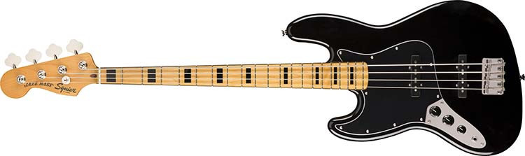 Left Handed Squier Guitars - Classic Vibe '70s Jazz Bass