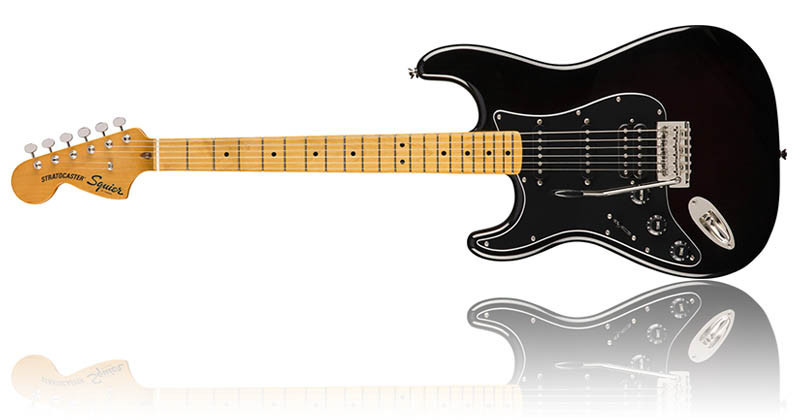 Left Handed Guitars For Beginners - Squier Classic Vibe Stratocaster