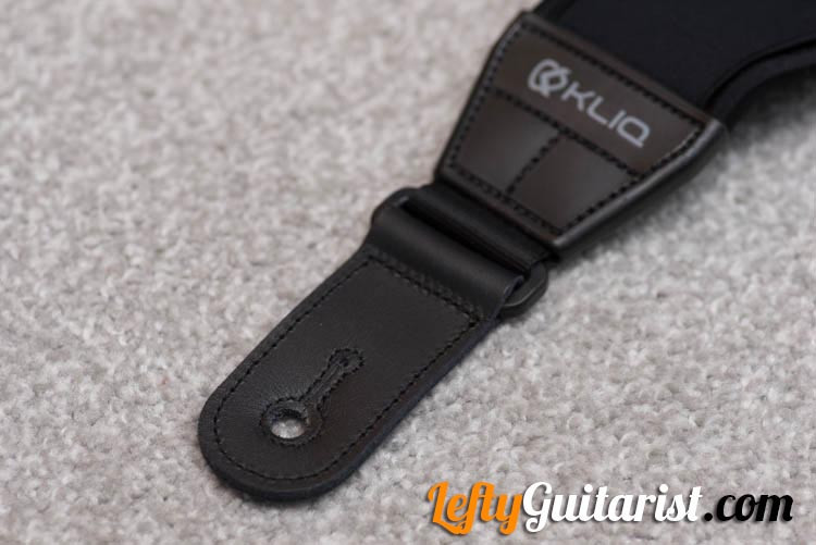 KLIQ AirCell Guitar Strap - Stitched Strap Ends