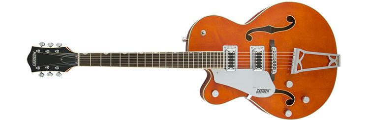 Left Handed Gretsch Guitars - G5420LH Electromatic - Orange Stain
