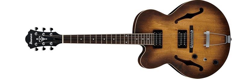 Left handed Ibanez AF55L electric guitar