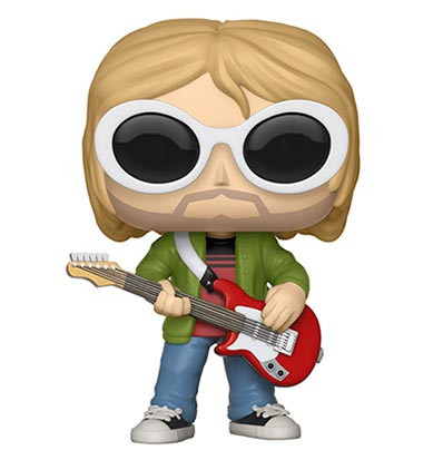 Funko Pop! Figure - Kurt Cobain with sunglasses