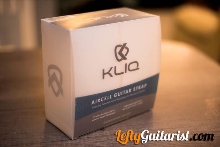 KLIQ AirCell Guitar Strap Box