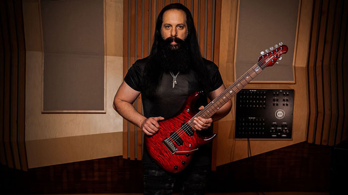 John Petrucci with a JP7 BFR