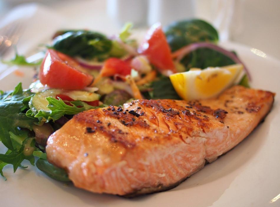 Salmon, omega 3. Photo by kayleigh harrington on Unsplash