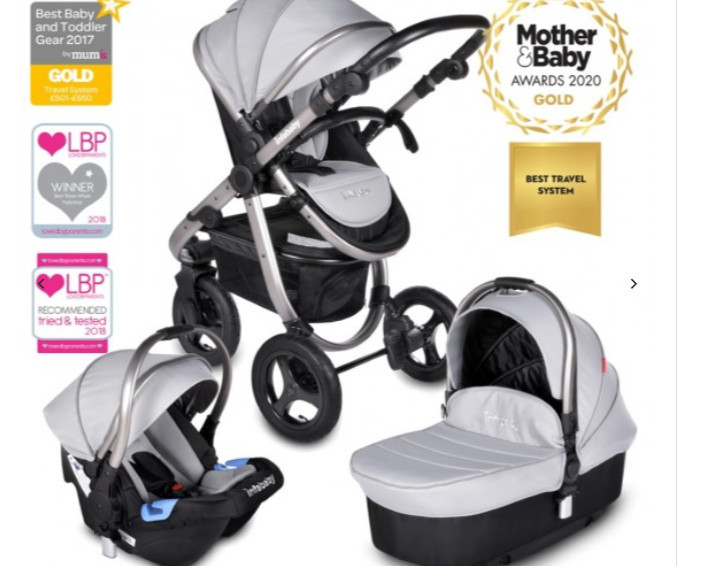 Credit Infababy: Award Winning Travel System