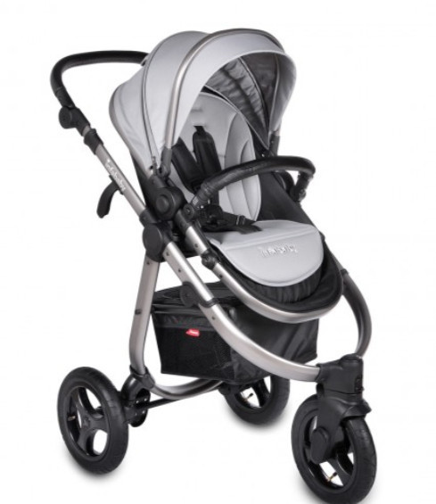 Credit Infababy: Infababy Ultimo Wheel 3 in 1 Travel System Space Grey