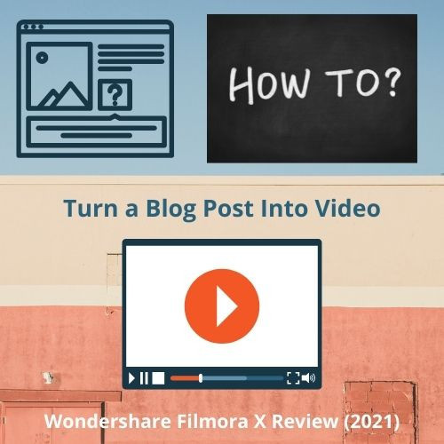 How to turn a blog post into a Video