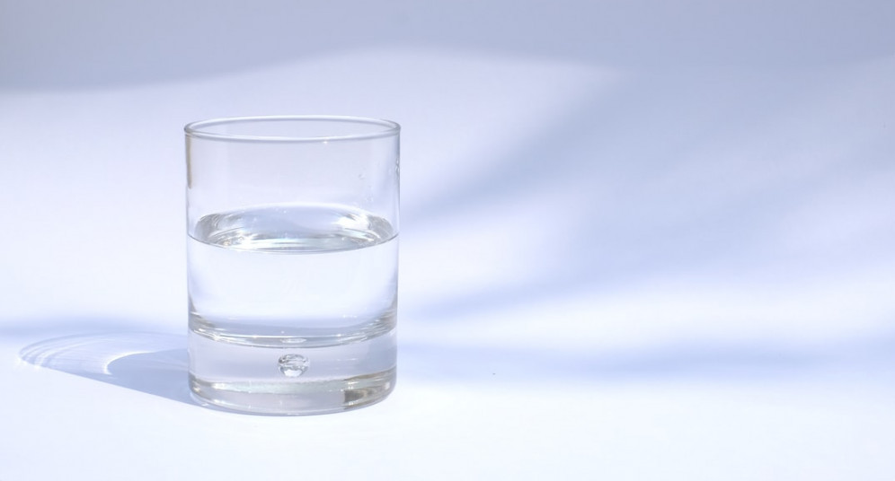 drink plenty of water to cure your hangover
