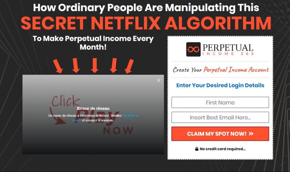 Secret Netflix Algorithm Enter Your Desired Login Details Here to claim your spot now
