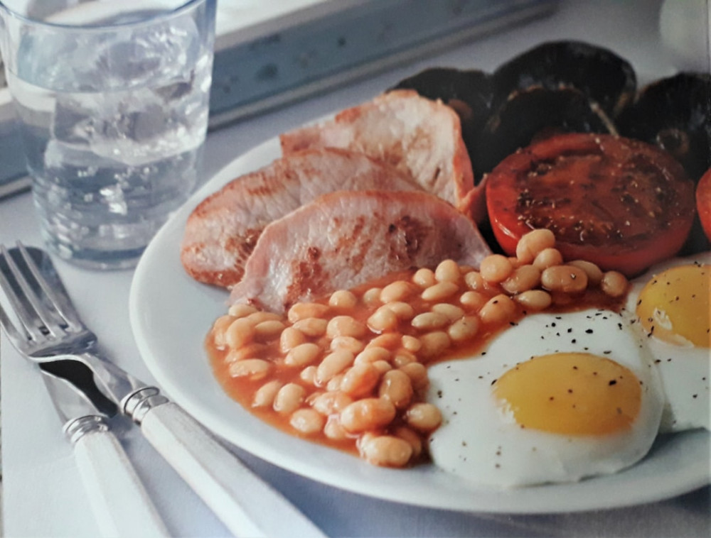 full english breakfast for a hangover