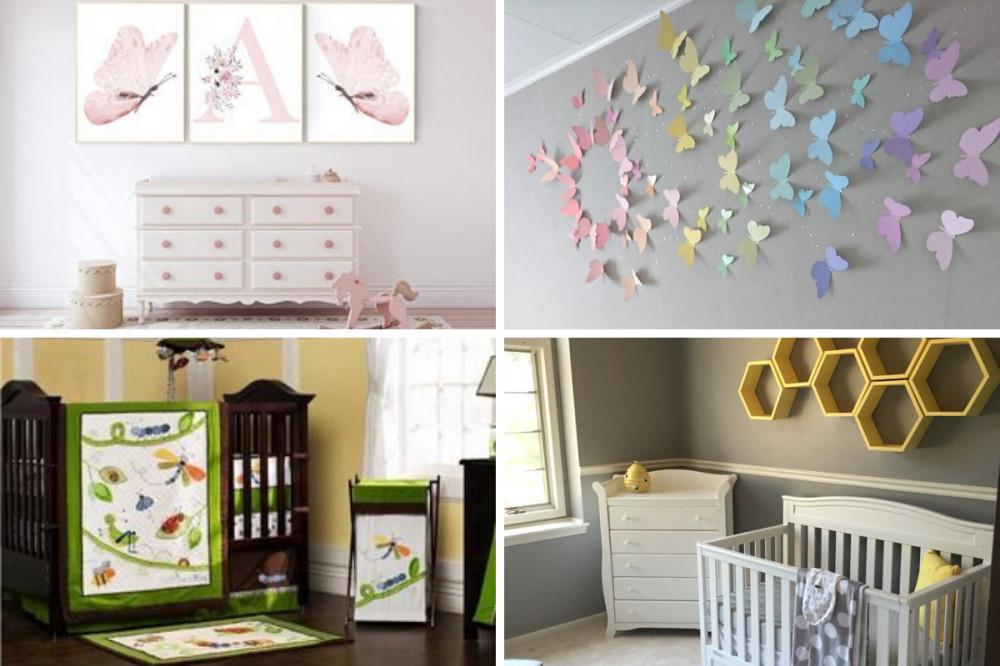 Bugs Baby Girl Nursery - Four Themes