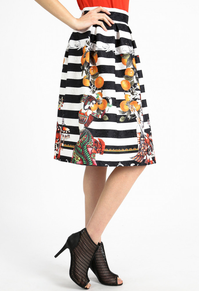 bell shaped skirt