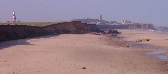 dog friendly beaches in Norfolk - Happisburgh Beach