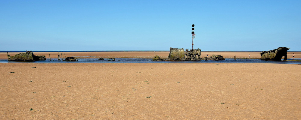 dog friendly beaches in Norfolk - Brancaster Beach