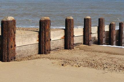 dog friendly beaches in Norfolk - Waxham Beach