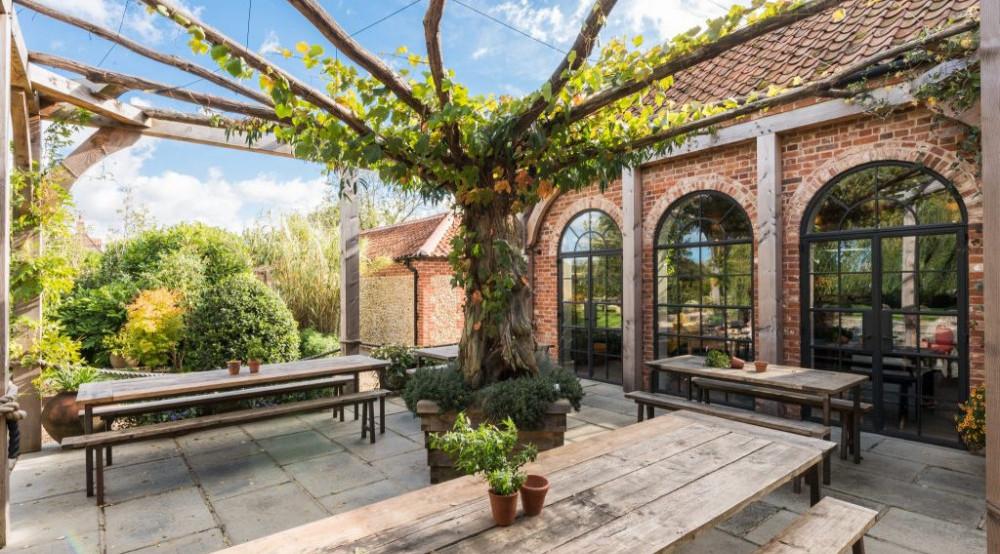 best beer gardens in norfolk - The bell