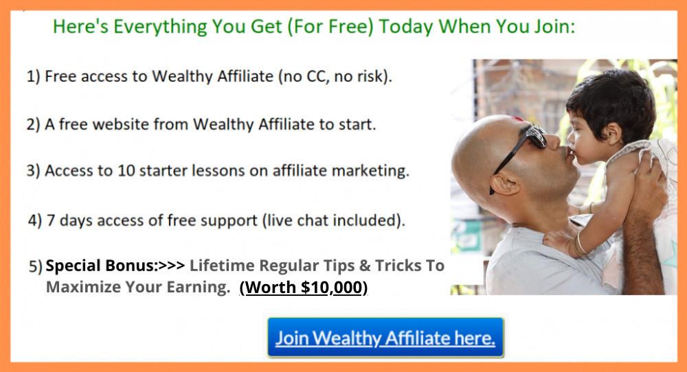 wealthy affiliate special bonus