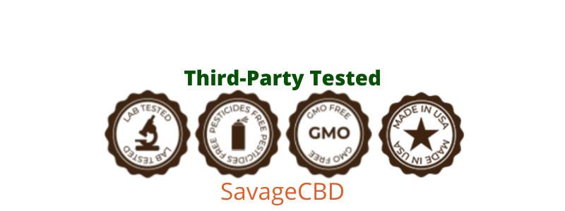 CBD Gummies/Third-Party Tested
