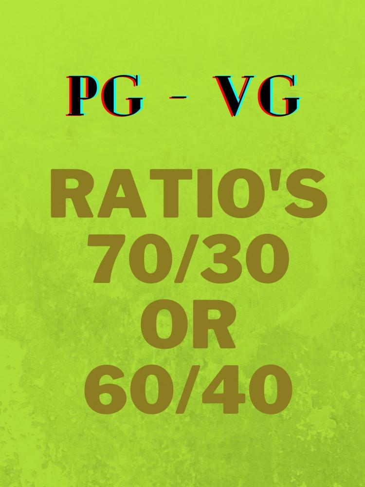 PG &VG; Ratio's