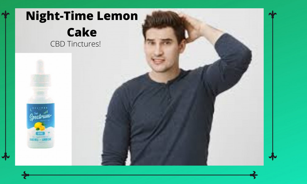 Night-time lemon cake