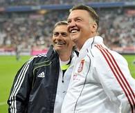 Jose Mourinho & Luis Van Gaal