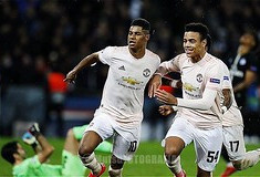 Marcus Rashford and Mason Greenword