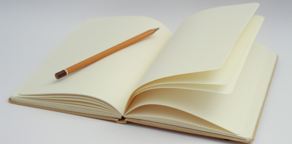 blank book blank page photo