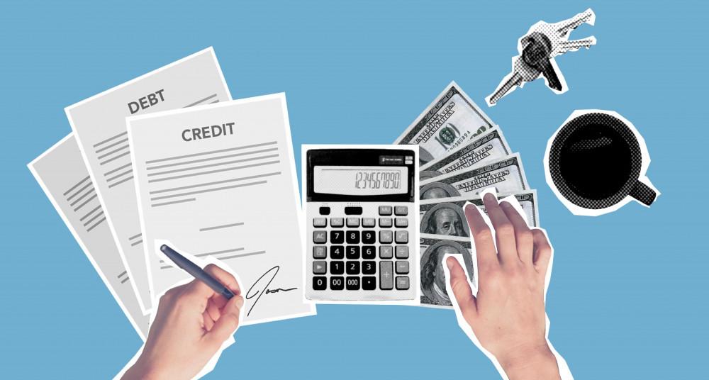 consolidating debt photo