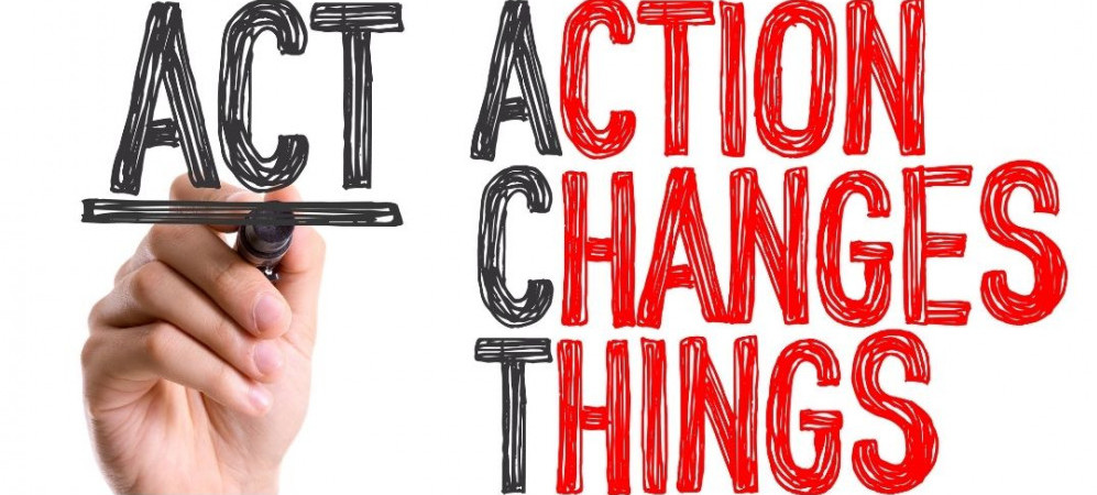 How to make the best year ever - Action Changes Things