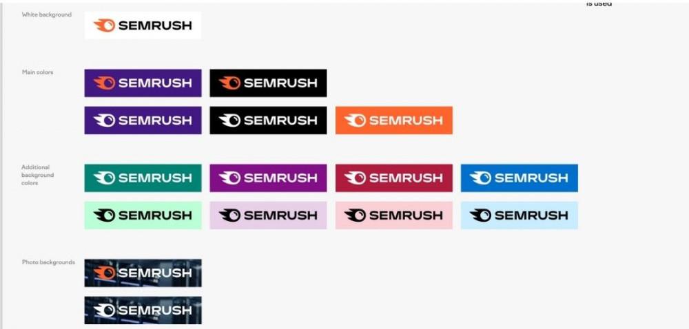 SEMrush logo lockup