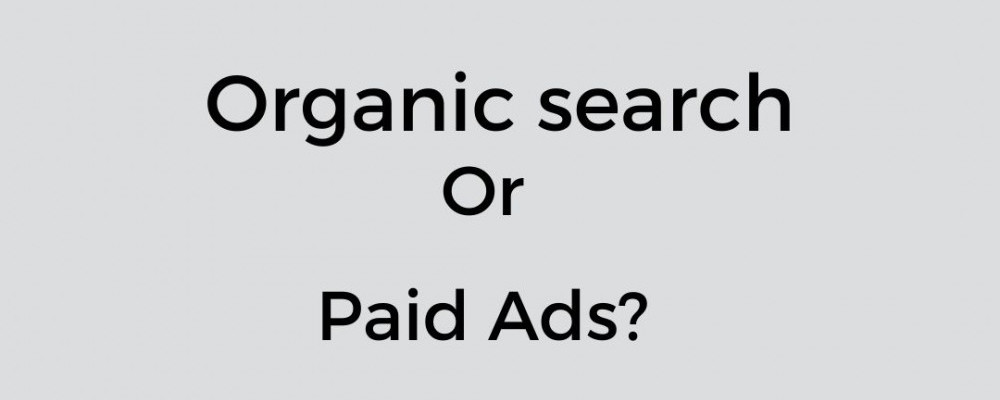 Organic search or Paid Ads?