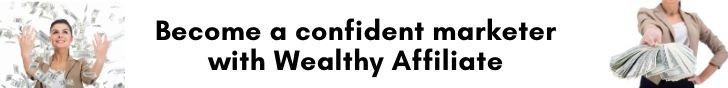 Confident marketer