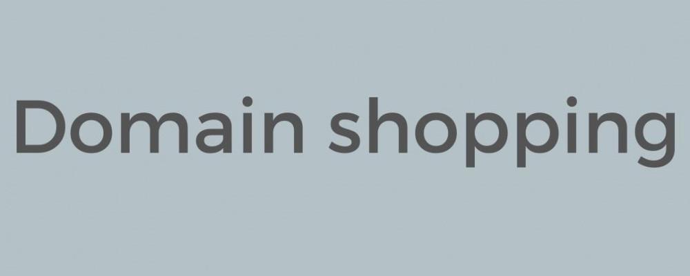 Domain Shopping