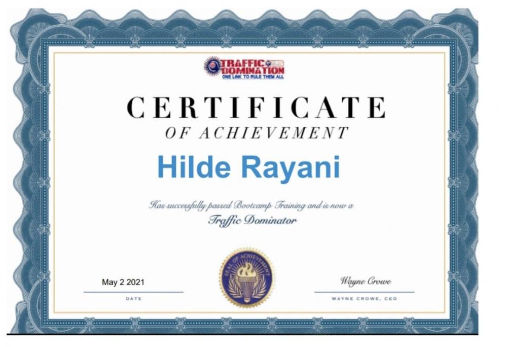 OLSP certificate