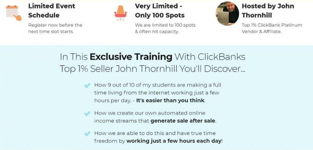 John Thornhill exclusive