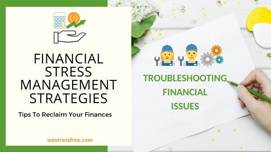 financial Stress Management Strategies: Troubleshooting financial issues