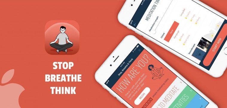 Stop, Breathe, Think - Meditation App