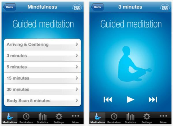 Mindfulness App - Guided meditation app