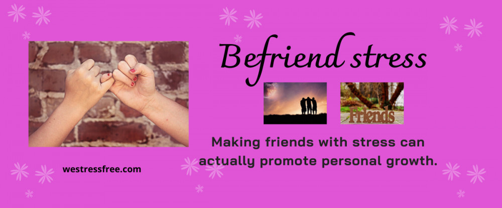 How to befriend stress? - Be friends with stress promote personal growth