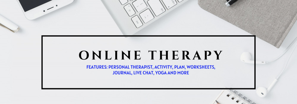 Online therapy to help with stress, anxiety or depression